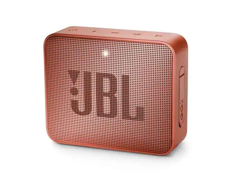 JBL GO2, Portable Bluetooth Speaker, Waterproof (Cinammon)