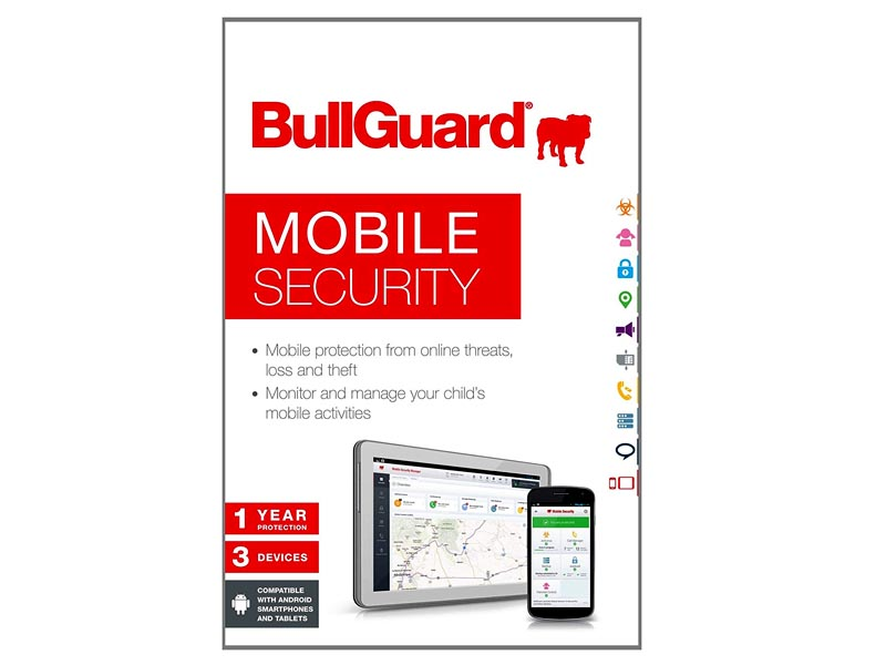 BullGuard Mobile Security- 1YR / 3Devices