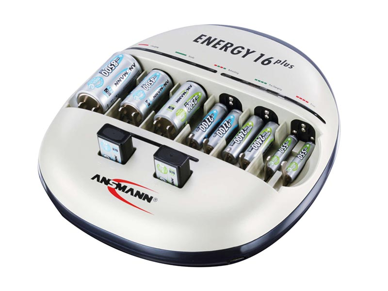 ANSMANN Energy 16 plus UK / EU, Consumer Battery Chargers, Energy Series