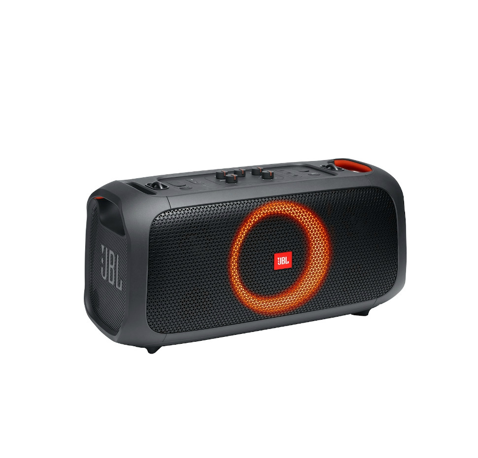 JBL Partybox On The Go, Compact Portable Blt Party Speaker, Stap, Mic