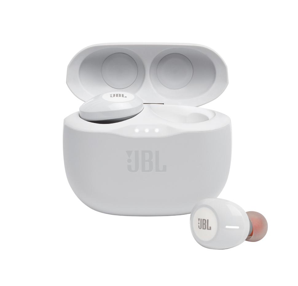 JBL Tune 125TWS, True Wireless In-Ear Headphones, (White)