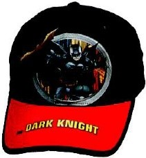 DISNEY HAT BATMAN THE DARK KNIGHT BK-RED