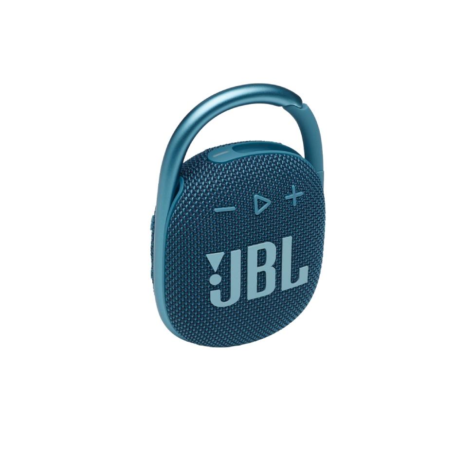 JBL Clip 4, Portable Bluetooth Speaker, Waterproof IP67 (Blue)