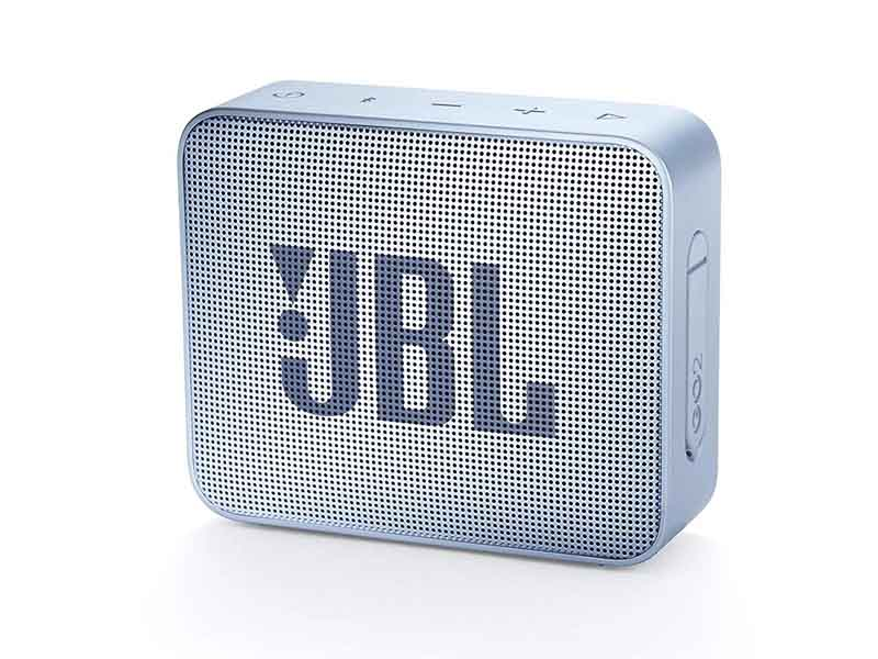 JBL GO2, Portable Bluetooth Speaker, Waterproof (Cyan)