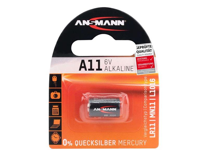 ANSMANN A11,Non - Rechargeable Batteries,Alkaline Cells in Blister Packs