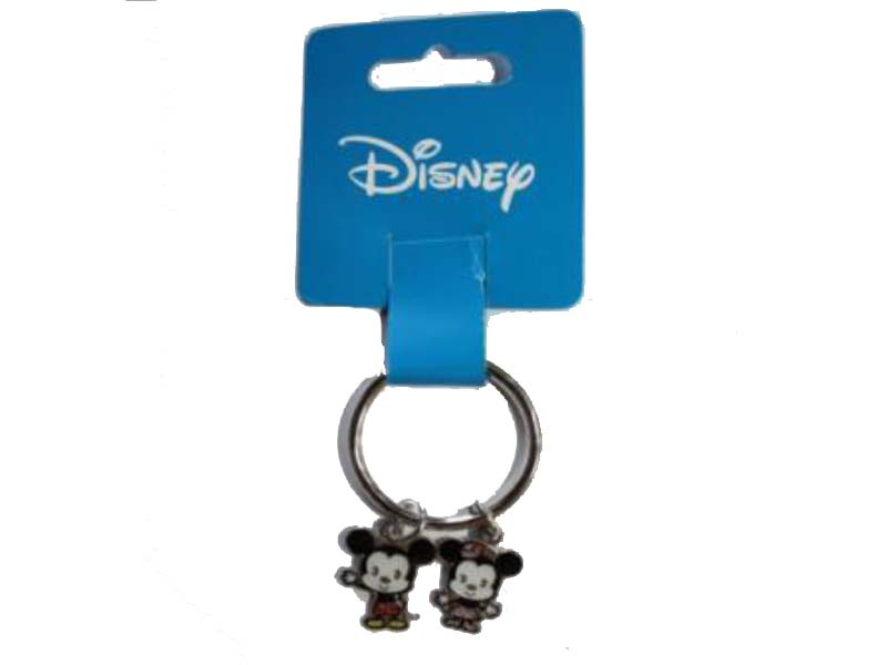 DISNEY KEYRING MICKEY/MINNIE