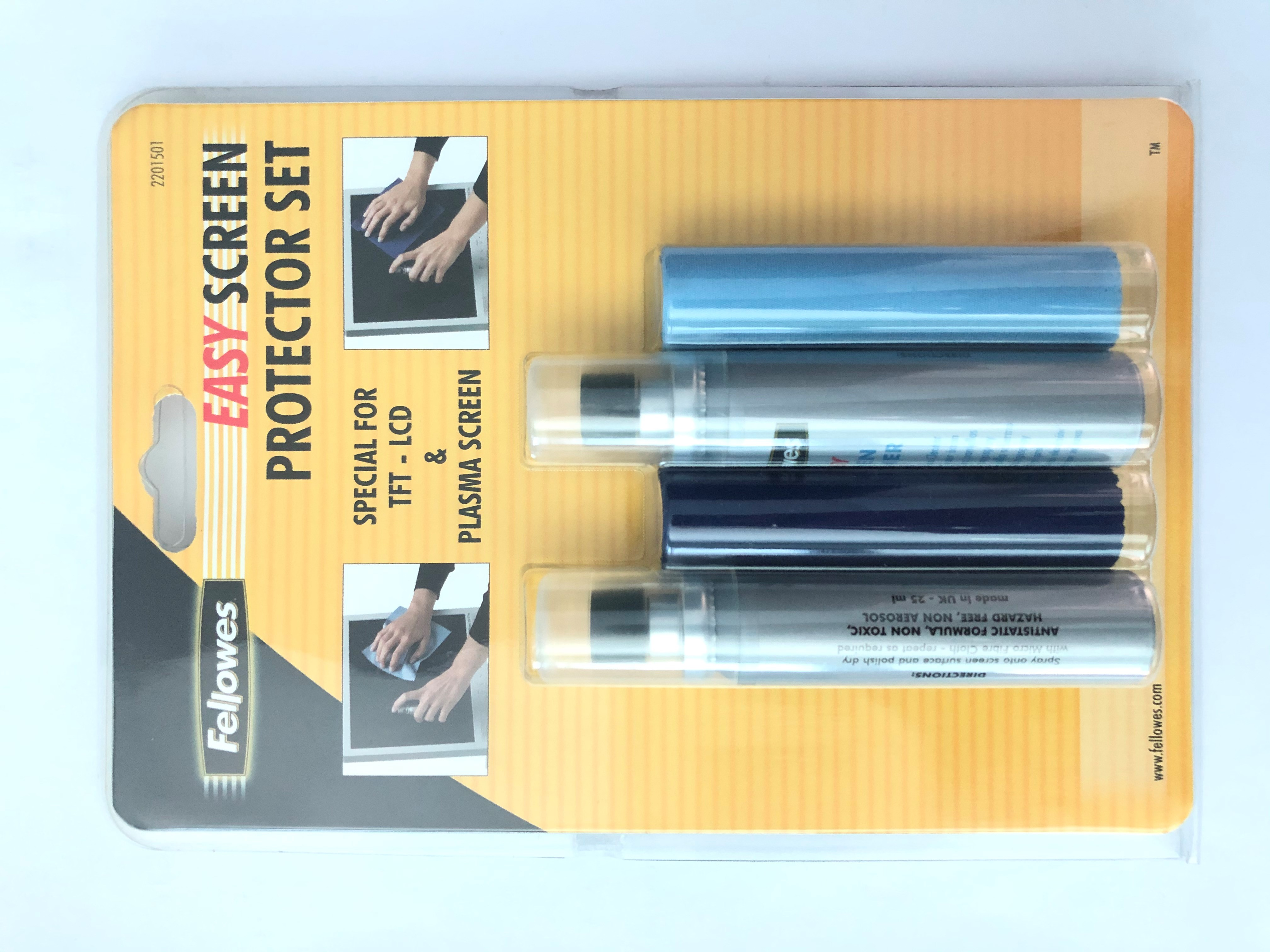 Fellowes SCREEN CLEANING SET PLASM/TFT/LCD