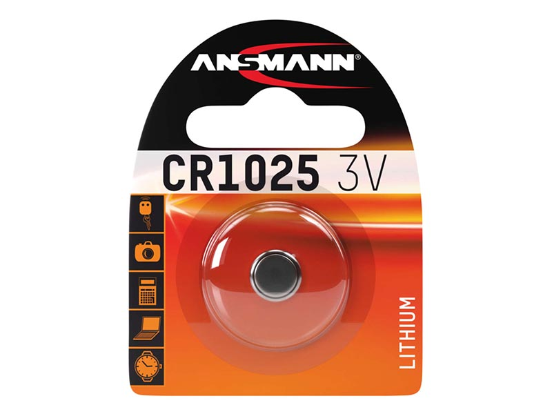 ANSMANN CR 1025,Non - Rechargeable Batteries,Coin Cells in Blister Packs