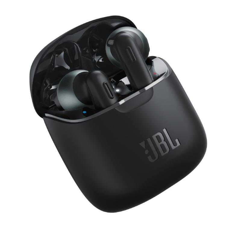 JBL Tune 220TWS True Wireless Ear-Buds Headphones (Black)