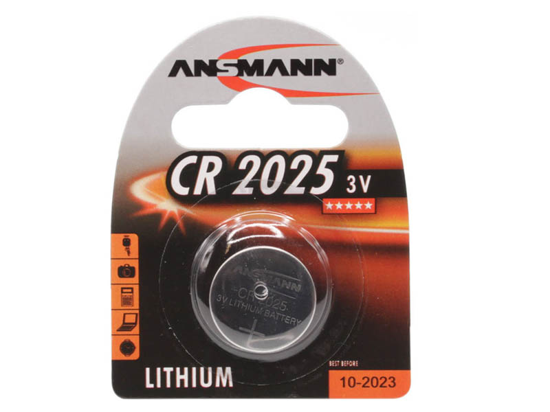 ANSMANN CR 2025,Non - Rechargeable Batteries,Coin Cells in Blister Packs