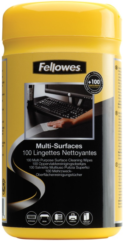 Fellowes SURFACE CLEANING WIPES