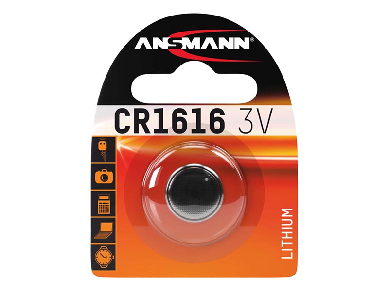 ANSMANN CR 1616,Non - Rechargeable Batteries,Coin Cells in Blister Packs