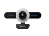 TEVO-T1 Streaming Webcam with Ring Light and Dual Microphone
