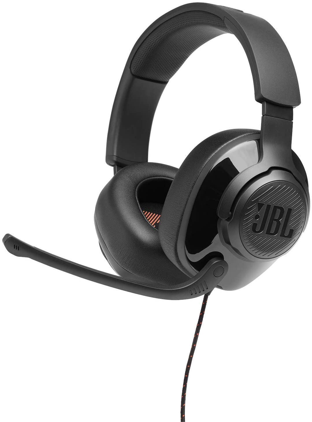 JBL Quantum 200, Over-Ear Wired Gaming Headset (Black)