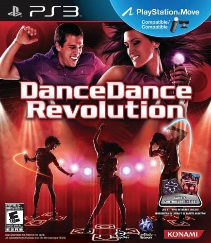 PS3 DANCE DANCE REVOLUTION NEW MOVES CONTAINS DANCE MAT