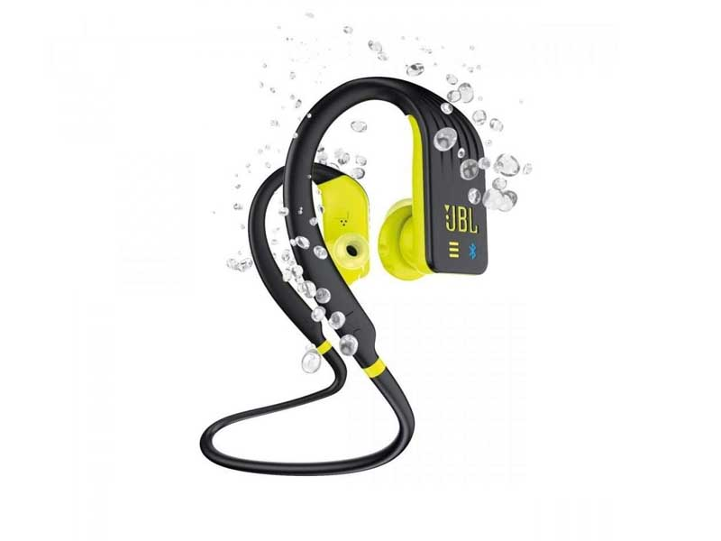 JBL Endurance DIVE, Wireless/MP3 Sport Headphones, Water (Lime)