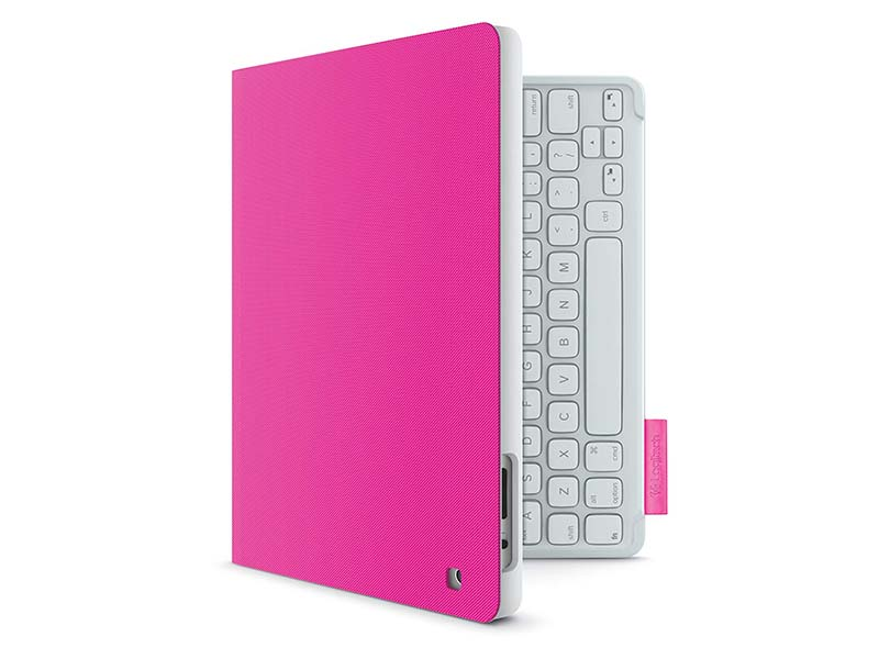 Logitech Keyboard Folio for iPad Fantasy Pink