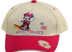 DISNEY HAT MINNIE PINK
