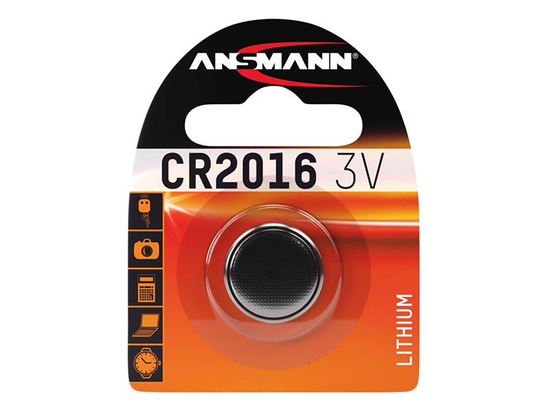 ANSMANN CR 2016,Non - Rechargeable Batteries,Coin Cells in Blister Packs