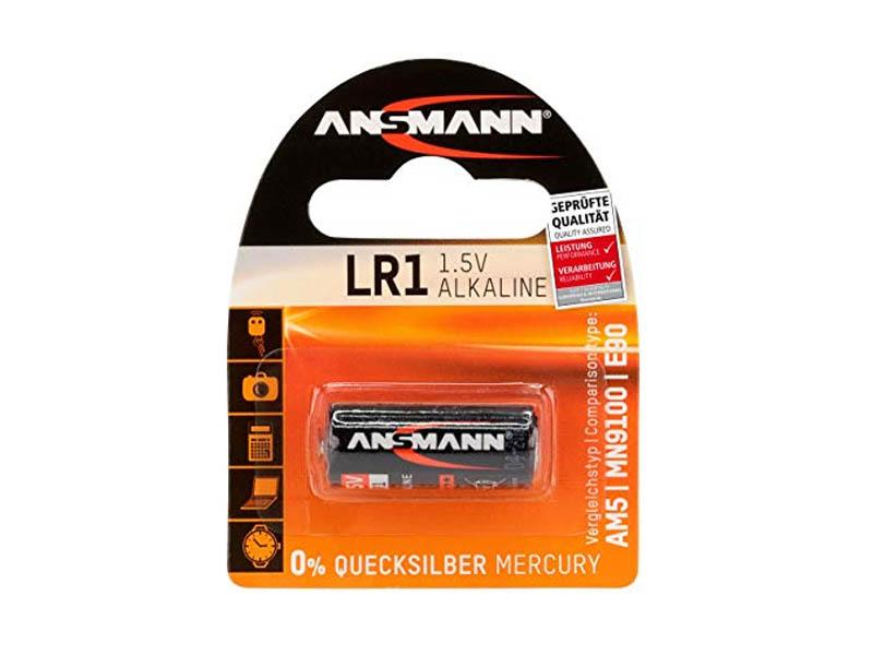 ANSMANN LR1,Non - Rechargeable Batteries,Alkaline Cells in Blister Packs