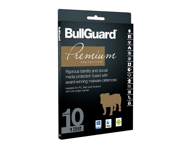 BullGuard Premium Protection-USA Retail 1Y/10 device (Cart