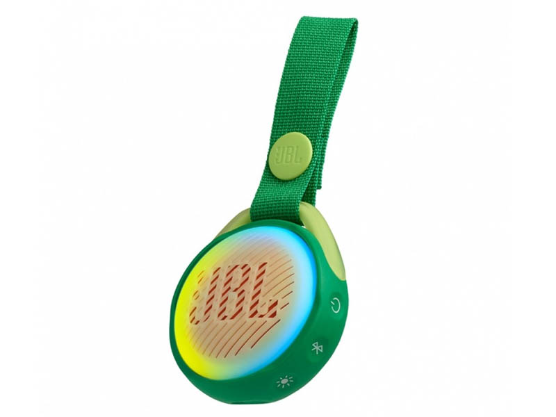 JBL POP, portable wireless speaker with light (green)
