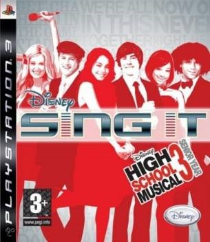 PS3  SING IT HSM3