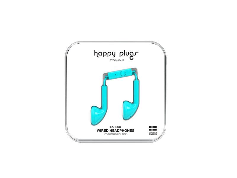 Happy Plugs Earbud Turquiose, Headphones