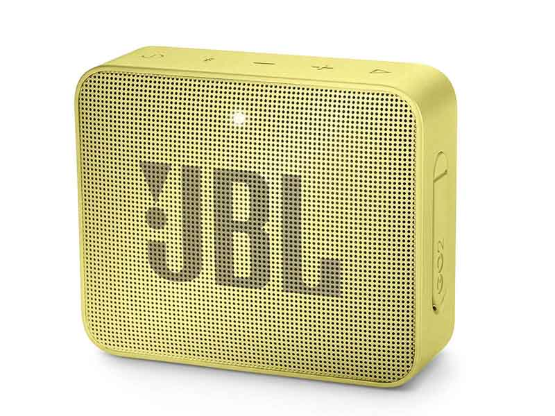 JBL GO2, Portable Bluetooth Speaker, Waterproof (Yellow)