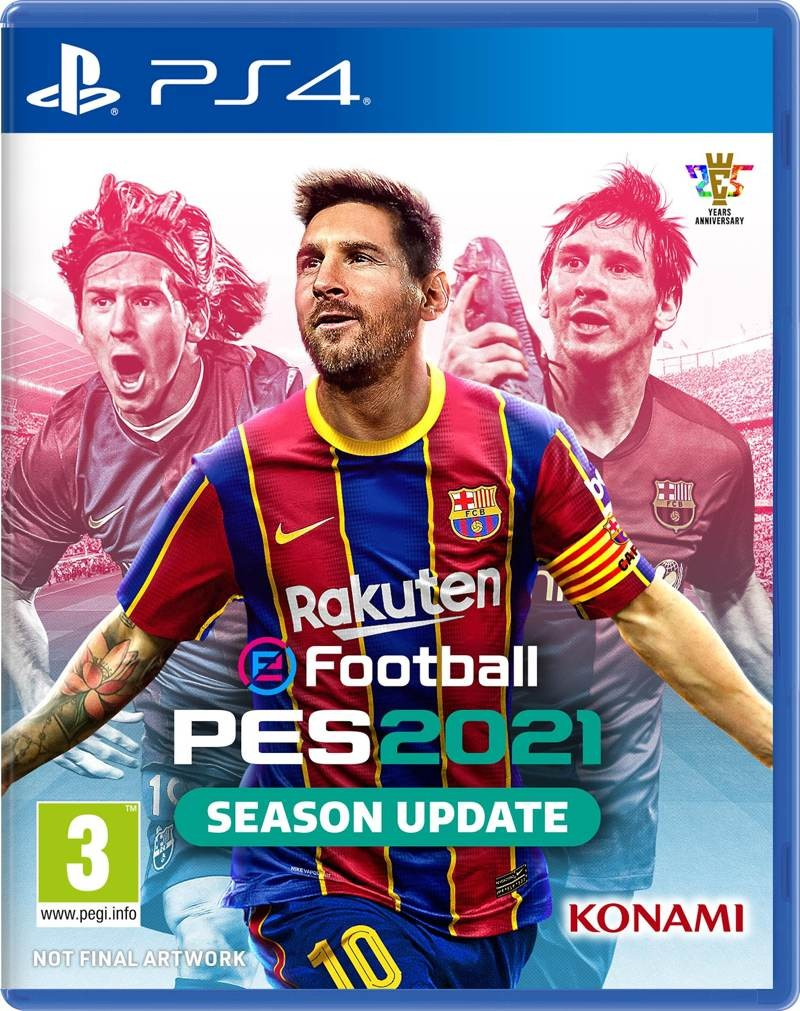 PS4  eFootball  PES 2021 PS4 EXP UK
