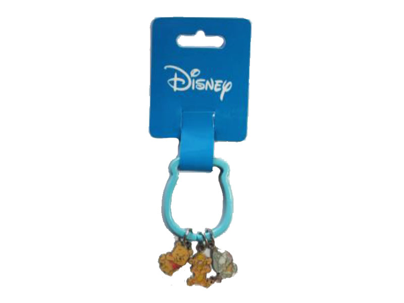 DISNEY KEYRING WINNIE &FRIENDS LIGHT BLUE