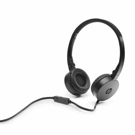 HP STEREO HEADSET H2800 w/1 JACK BLACK