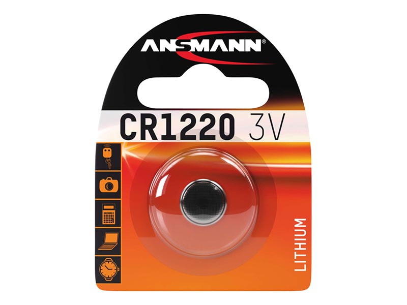 ANSMANN CR 1220,Non - Rechargeable Batteries,Coin Cells in Blister Packs
