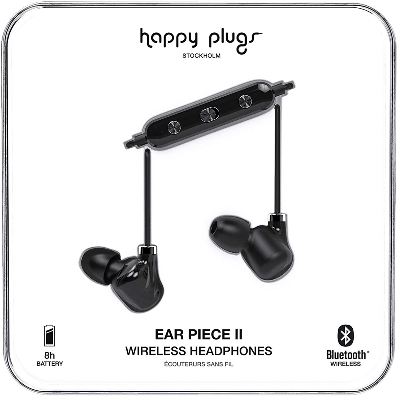 Happy Plugs - Ear Piece II - Black Black