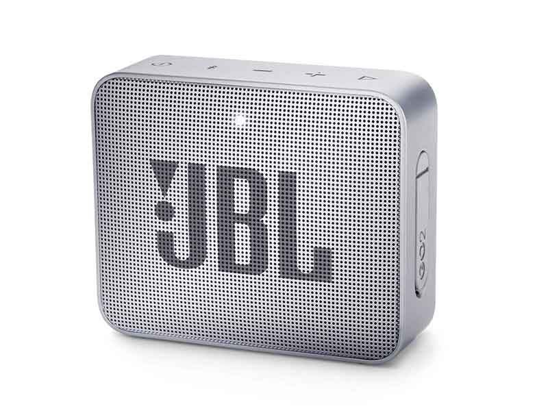 JBL GO2, Portable Bluetooth Speaker, Waterproof (Grey)