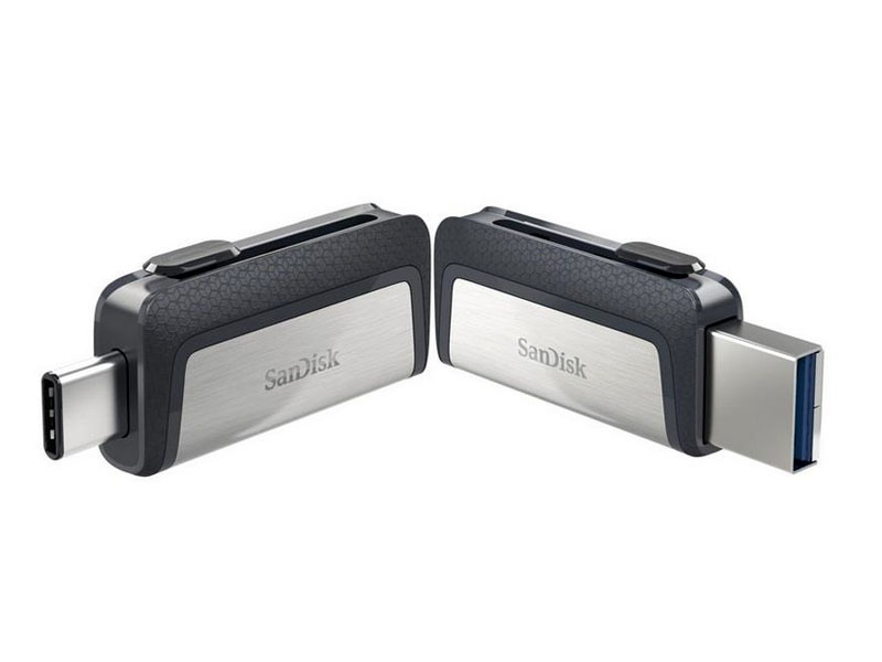 SanDisk Ultra® Dual Drive USB Type-CTM, Flash Drive 64GB*
