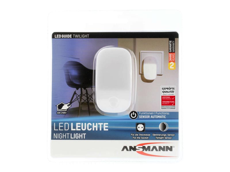 ANSMANN LED Nightlight TWILIGHT - UK, ANSMANN Lighting, Aqualight & Nightlights