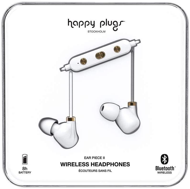 Happy Plugs - Ear Piece II - White Gold