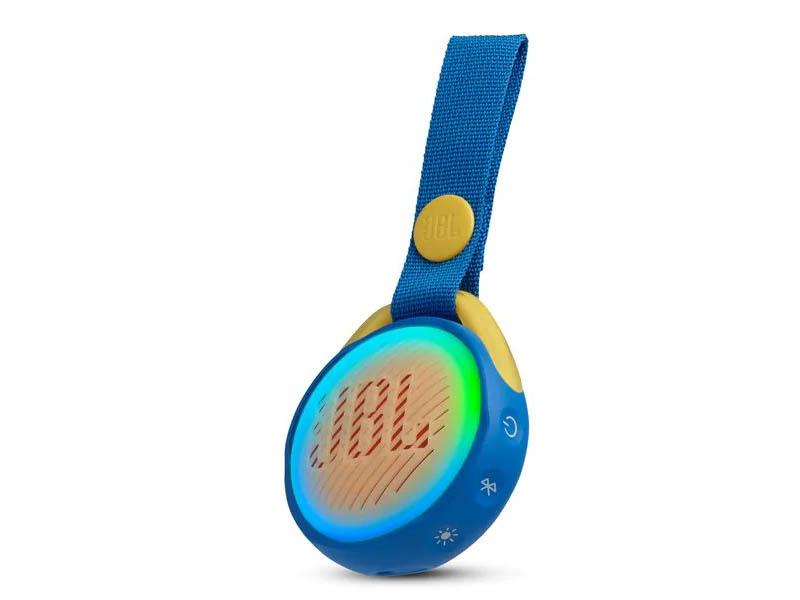 JBL POP, portable wireless speaker with light (blue)