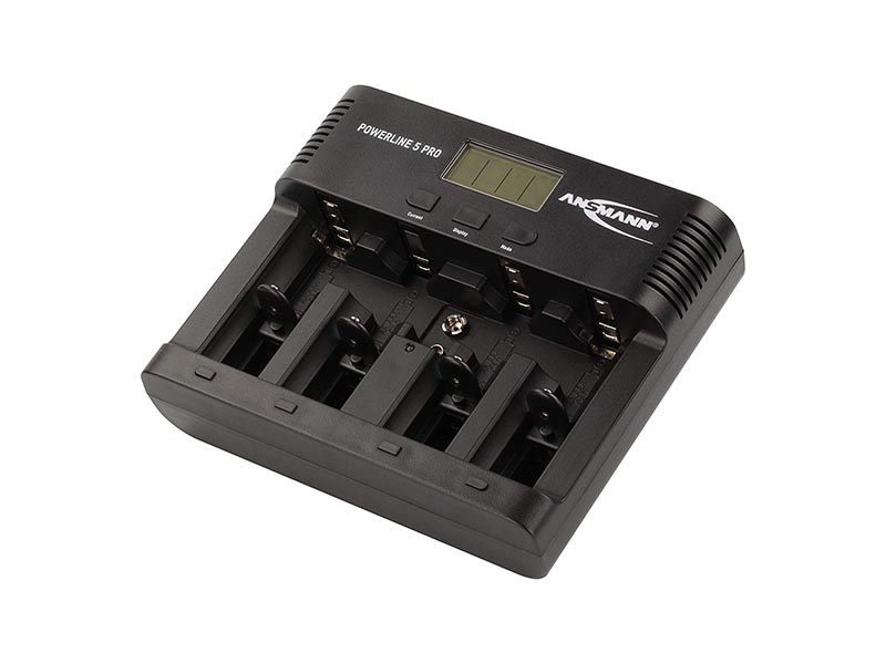 ANSMANN Powerline 5 Pro Traveller AUS / UK / EU / US, Consumer Battery Chargers, Powerline Series