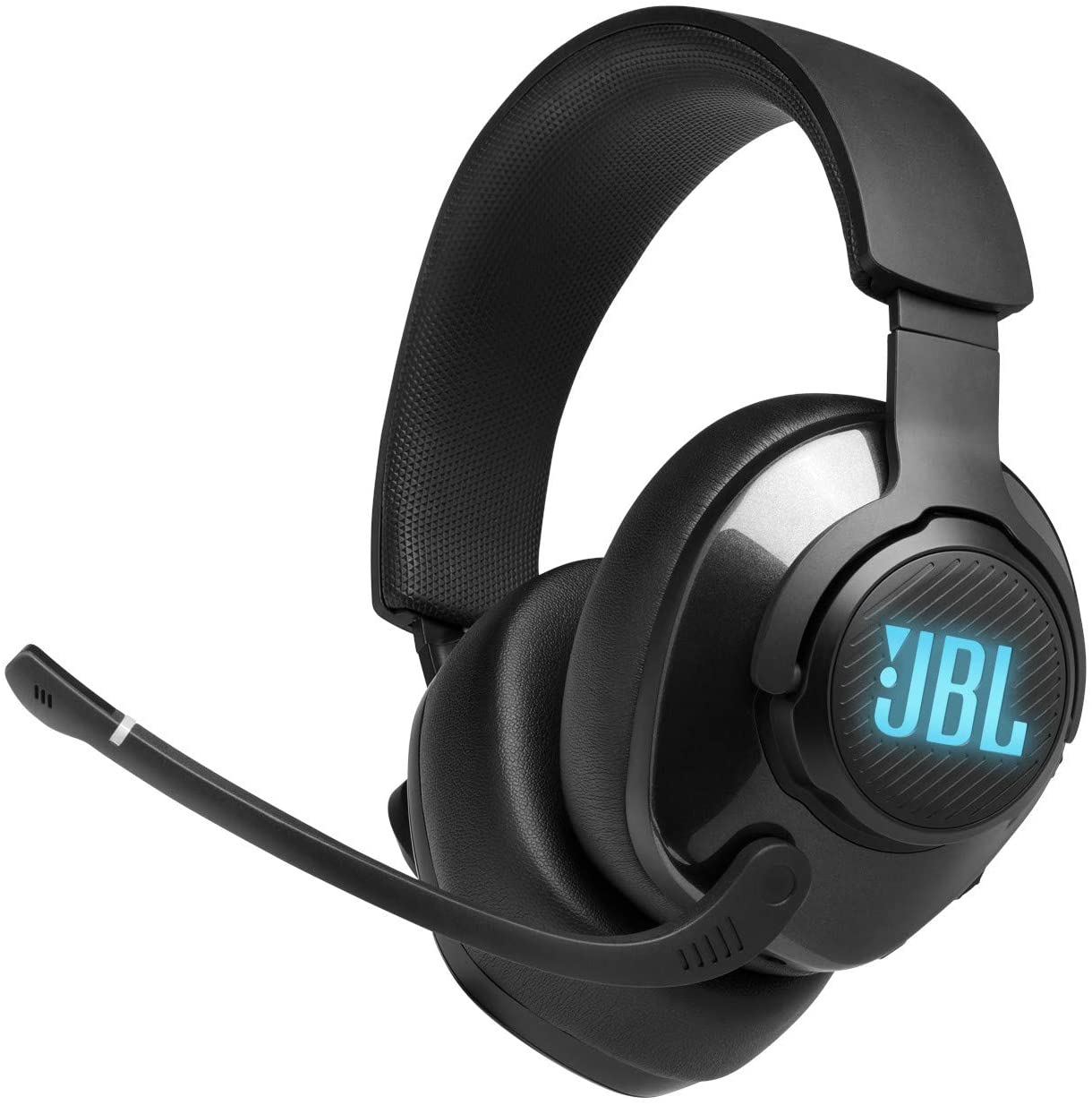 JBL Quantum 400, Over-Ear Wired Gaming Headset, Surround, RGB (Black)