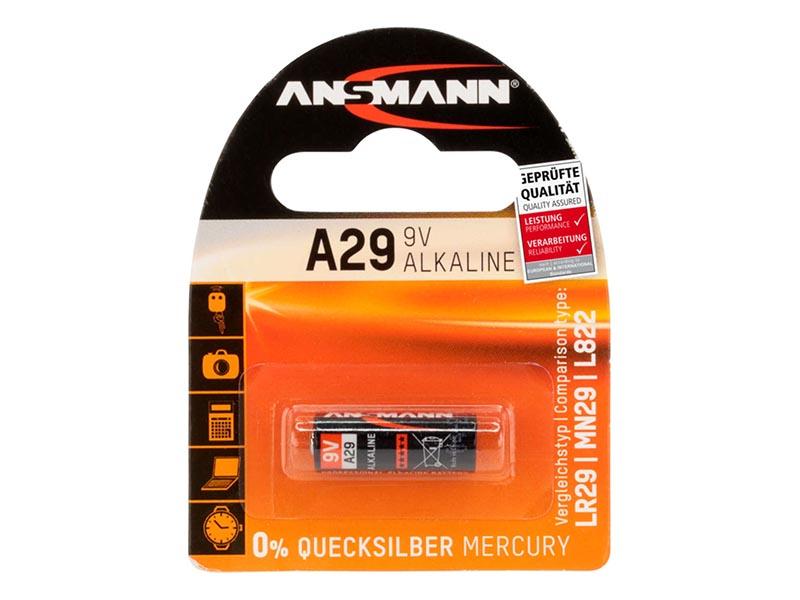 ANSMANN A29,Non - Rechargeable Batteries,Alkaline Cells in Blister Packs