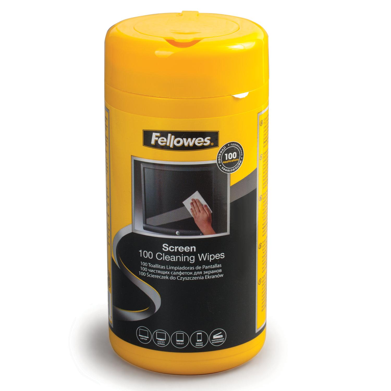 Fellowes SCREEN CLEANING WIPES 100 EU