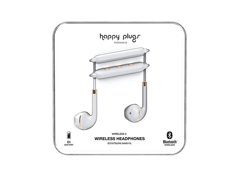Happy Plugs Wireless II - White