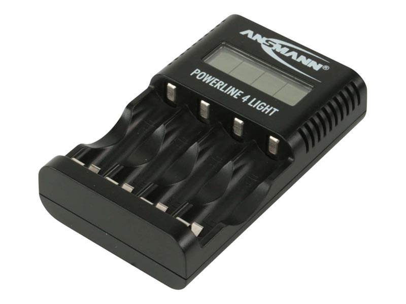ANSMANN Powerline 4 Light UK / EU,Consumer Battery Chargers, Powerline Series