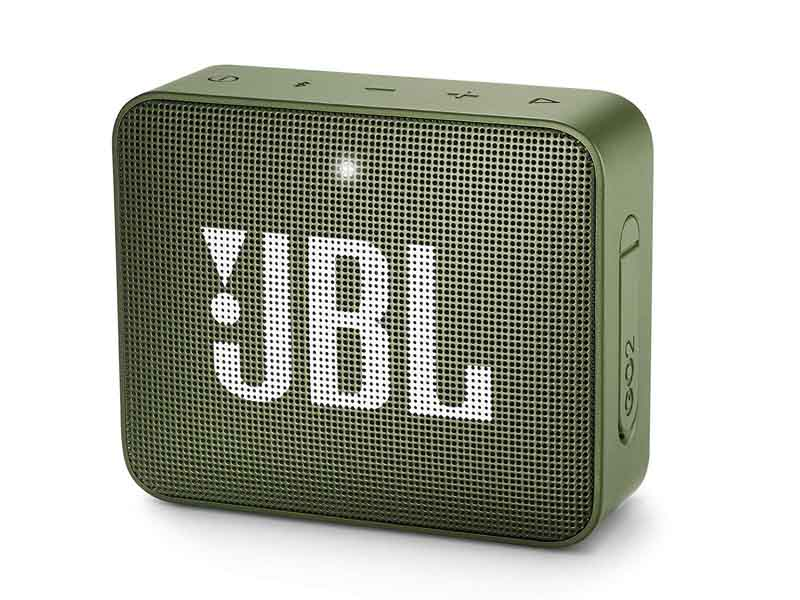 JBL GO2, Portable Bluetooth Speaker, Waterproof (Green)