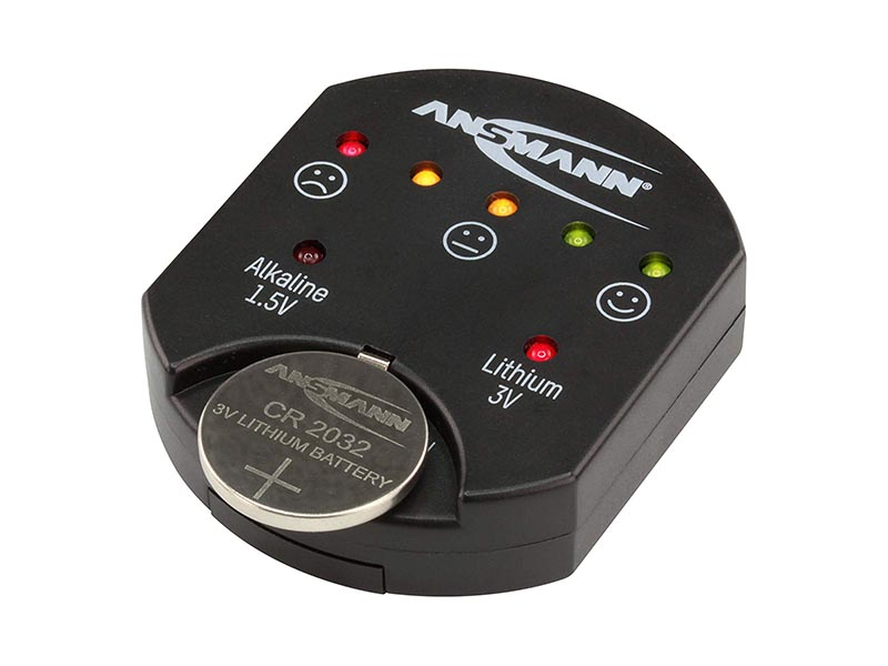 ANSMANN Button Cell Tester - Battery Accessories,Battery Testers