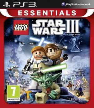 PS3 Lego Star Wars III Clone Wars ESSENTIAL