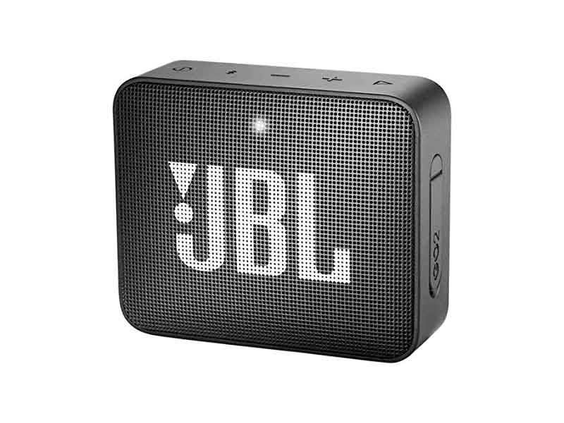 JBL GO2, Portable Bluetooth Speaker, Waterproof (Black)