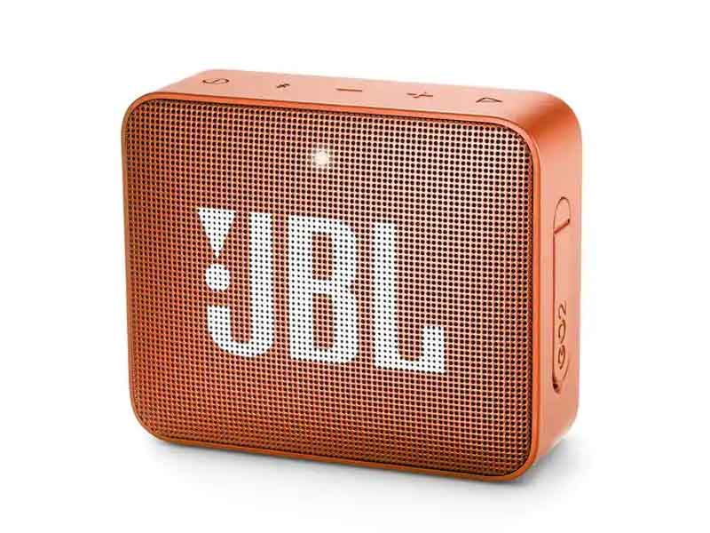 JBL GO2, Portable Bluetooth Speaker, Waterproof (Orange)